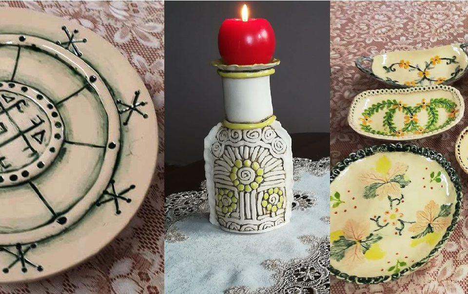 Keramikos darbų paroda