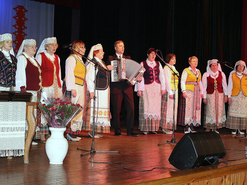 """ŠKAC Alksniupių kultūros namų liaudiško dainavimo kolektyvas """"Alksnelė"""""""