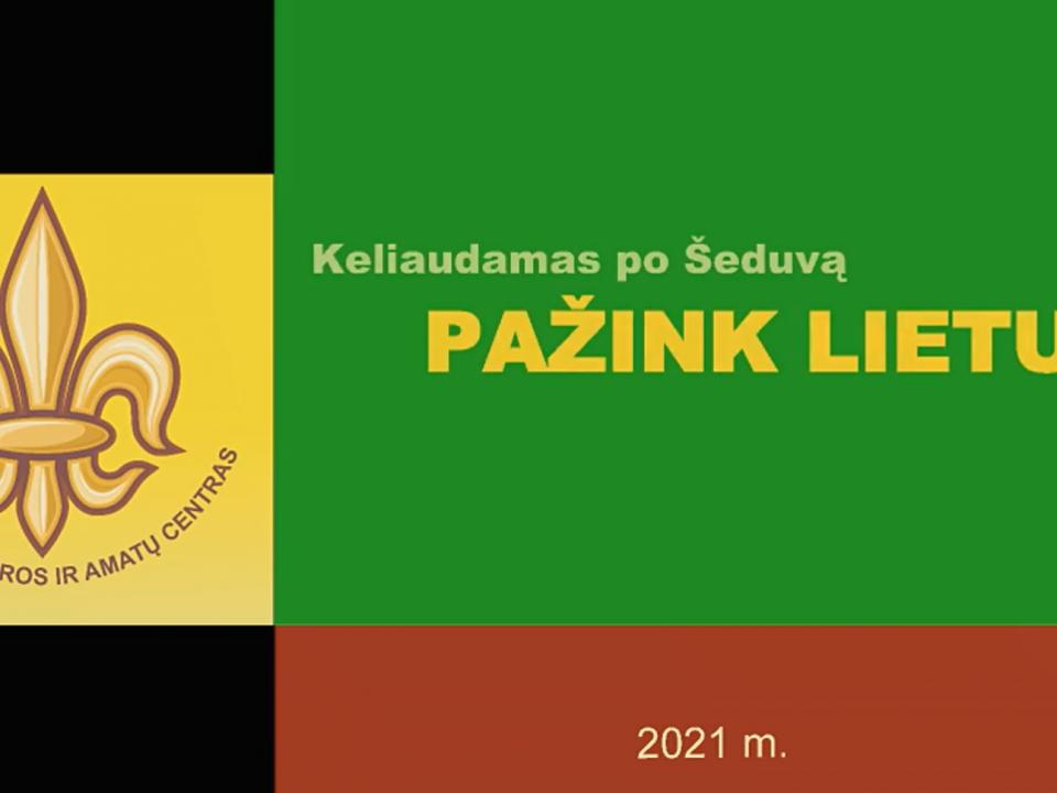 """Žygio """"Keliaudamas po Šeduvą, pažink Lietuvą"""" akimirkos"""