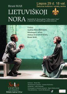 Lietuviskoji Nora plakatas